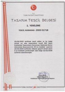 TASARIM BELGESİ